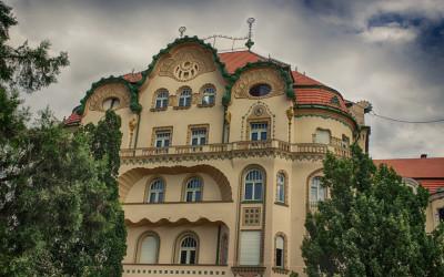 Palatul Vulturul Negru, o capodopera secession
