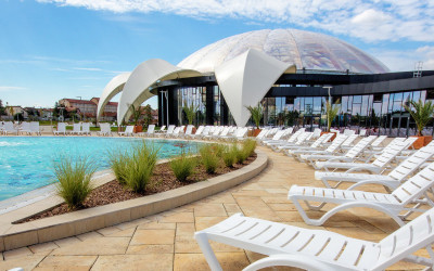 Aquapark Nymphaea in Oradea, just 5 minutes from Lyra Hotel